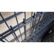 2D horganyzott Antracit kerítés panel 8-6-8mm/50x200/103x250cm-től