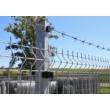3D TK-4 Táblás kerítéselem 4,0mm/123x250cm-től (55x200) - Antracit