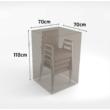 Kerti bútorvédő takaróponyva székre