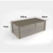 Kerti bútorvédő takaróponyva asztalokhoz