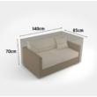 Kerti bútorvédő takaróponyva kétszemélyes kanapéra