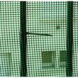 CUADRANET műanyag kertirács Fekete - 1 x 25 m, 5x5 mm szemméret