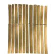 Bamboocane hasított bambusznád kerítés - 1 x 5m-től