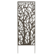 Fém panel dekoratív motívumokkal 2