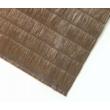 Szintetikus pálmaháncs 100%-os belátásgátló Barna - 1 x 3m-től