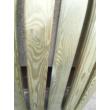 Kerítés deszka lekerekített élekkel 120 x 11,5 x 2,2 cm