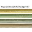 Merőleges fa kerítésoszlop - 9,5 x 9,5 x 100 cm-től
