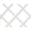 Természetes hatású apácarács Fehér - 0,5 x 1,5 m