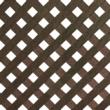 Privat dekoratív kültéri panel barna színben