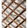 Trelliwood fa apácarács Barna - 0,5 x 1,5 m