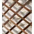 Trelliwood fa apácarács barna színben