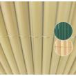 Plasticane félovális profilú műnád belátásgátló Bézs - 1 x 3m-től