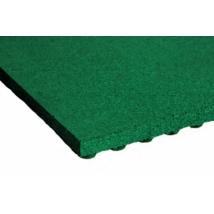 Játszótéri ütéscsillapító gumilap A50 - Zöld