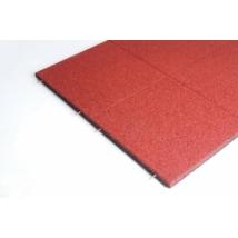 Játszótéri ütéscsillapító gumilap A40 - Vörös