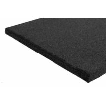 Játszótéri ütéscsillapító gumilap  A45 - Fekete