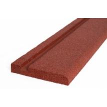Gumiszegély - Vörös