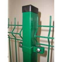 Zöld zártszelvény oszlop 1,5mm/60x40/200cm
