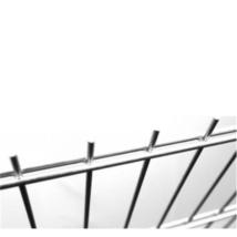 Mártottan horganyzott 2D kerítés panel 8-6-8mm/50x200/103x250cm