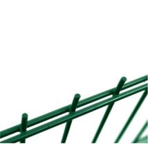2D horganyzott zöld kerítéselem 6-5-6mm/50x200/103x250cm