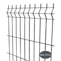 3D horganyzott-színterezett kerítés panel 5,0/50x200/103x250cm - Antracit