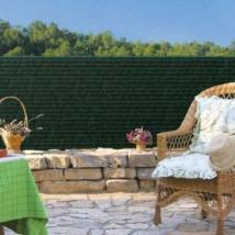 Szintetikus pálmaháncs 100%-os belátásgátló Zöld - 1 x 3m