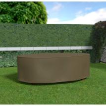 Kerti bútor védőhuzat ovális asztalhoz