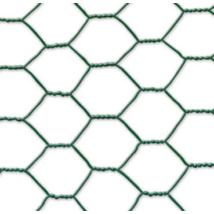 GALVANEX PLAST 13 drótháló műanyag bevonattal - 0,5 x 25m