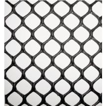 POULTRYMESH fekete műanyag baromfirács - 0,9 x 25m