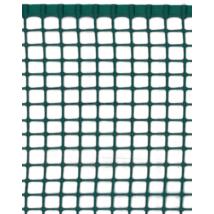 Négyzetes műanyag kerti rács Zöld - 0,5x5 m/5x5mm-től