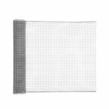 Négyzetes  műanyag kertirács Ezüst - 0,5 x 5 m