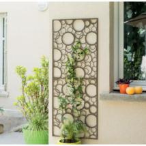 Fém panel dekoratív motívumokkal 1