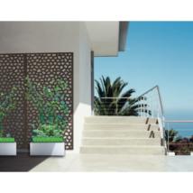 Mozaik térelválasztó - Barna