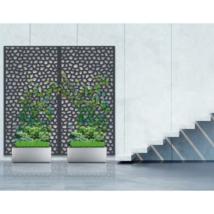 Mozaik térelválasztó - Szürke