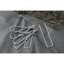 Galvanizált fém leszúró cölöp 17 x 3,5 cm