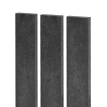 Műanyag síkfejű kerítésléc ANTRACIT - 78 cm, 78x21 mm
