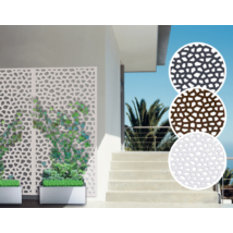 Mozaik térelválasztó - Fehér