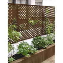Privat dekoratív kültéri panel - Barna