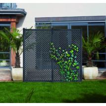 Privat dekoratív kültéri panel - Antracitszürke