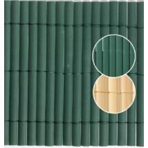Plasticane félovális profilú műnád belátásgátló Zöld - 1 x 3m-től