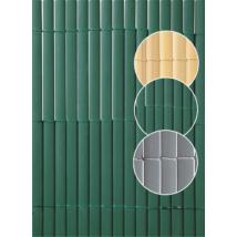 Plasticane Oval műanyag nád belátágátló Zöld - 1 x 3m-től