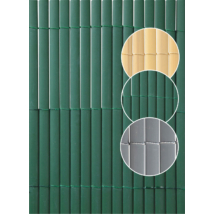 Plasticane Oval műanyag nád belátásgátló Zöld - 1 x 3m-től
