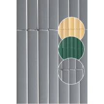 Plasticane Oval műanyag nád belátágátló Szürke - 1 x 3 m-től
