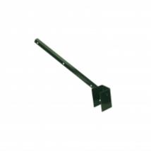 """,,L"""" formájú tüskés tartó Zöld - 60x40 mm"""