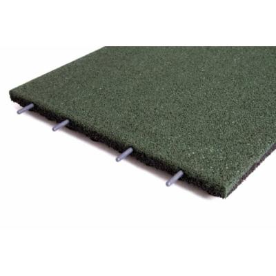 Játszótéri ütéscsillapító gumilap B45 - Zöld