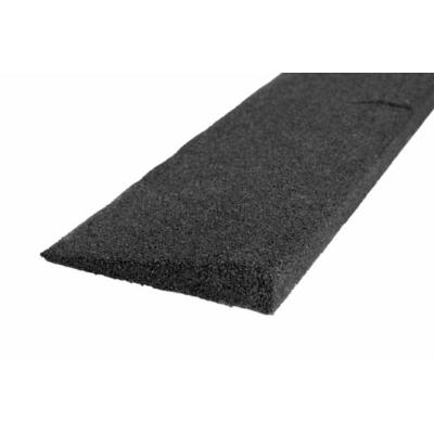 Fekete gumi indító profil - 100 mm
