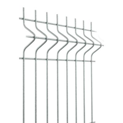 3D táblás kerítés hegesztés előtt horganyzott 5,0/50x200/103x250cm-től