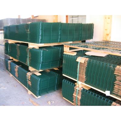 3D TK-4 Táblás kerítéselem 4,0mm/123x250cm (55x200) - Zöld