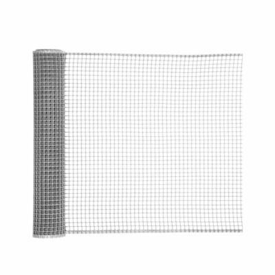 Négyzetes műanyag kerti rács Ezüst - 0,5x5m/10x10mm-től