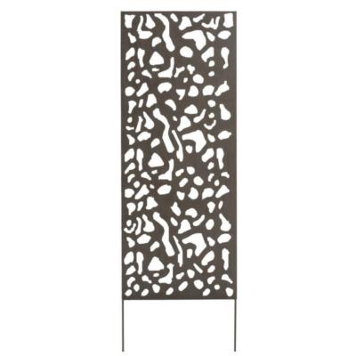 Fém panel dekoratív motívumokkal 3