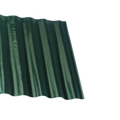 Hullámos műanyag gyepszegély Zöld - 0,15 x 9,0 m